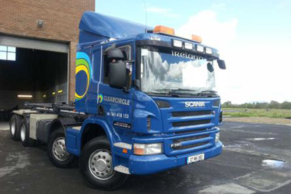 An image showing a truck we painted