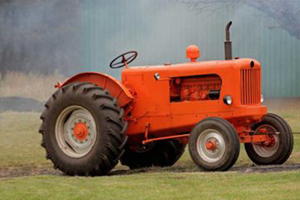 An image showing a tractor we painted