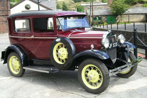 An image showing a vintage car we painted